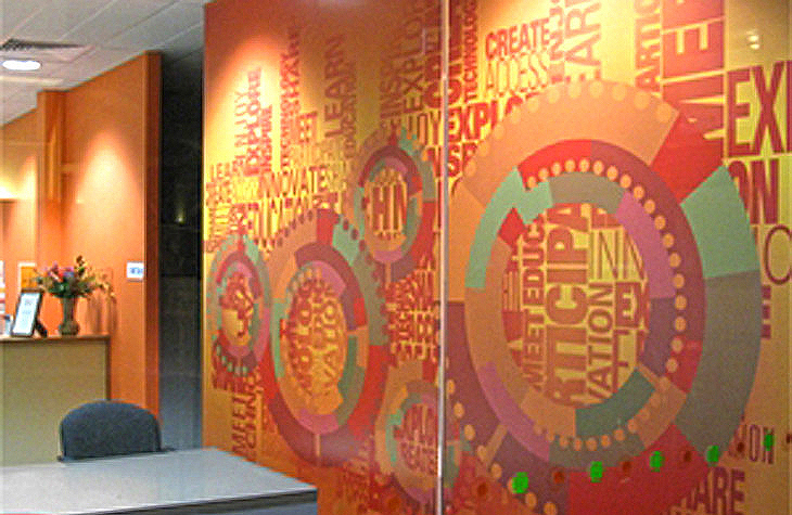 Yooralla Wall Graphic Mural for Educational Facility